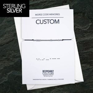 Custom Morse code Bracelet, Morse Code Bracelet, Morse Code Jewelry, Custom Bracelet, Personalised Gift, Silver Morse Code, Valentines Gift