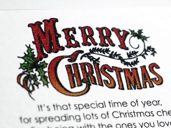Christmas wish bracelet. Perfect stocking filler or Secret Santa. Alternative Christmas card. Friendship bracelet