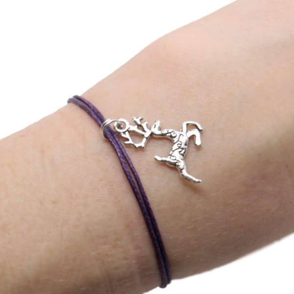 Secret Santa Wish Bracelet, Reindeer Bracelet, Christmas Eve Box, Personalised Christmas gift, Holiday Gift, Christmas Jewellery, Under 5