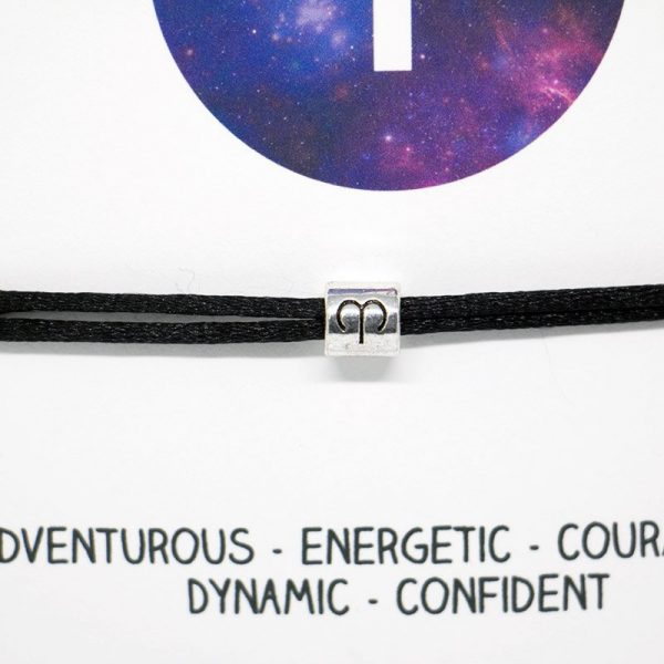 Zodiac bracelet - Aries, Horoscope, zodiac jewellery, personalised bracelet, Friendship bracelet, Birthday gift, Bridesmaid gift, BFF
