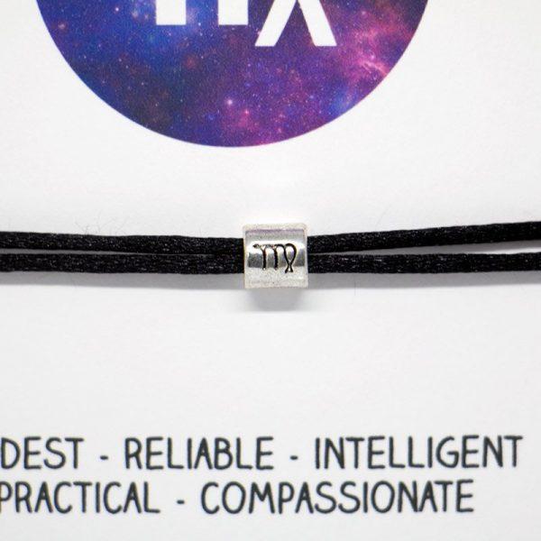 Zodiac bracelet - Virgo, Horoscope, zodiac jewellery, personalised bracelet, Friendship bracelet, Birthday gift, Bridesmaid gift, BFF