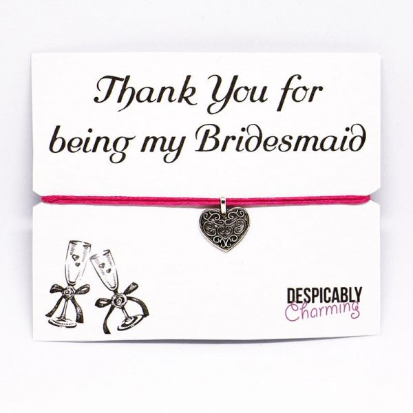 Thank you for being my bridesmaid - Bridesmaid Gift