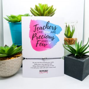 Teacher Gift Wish Bracelet