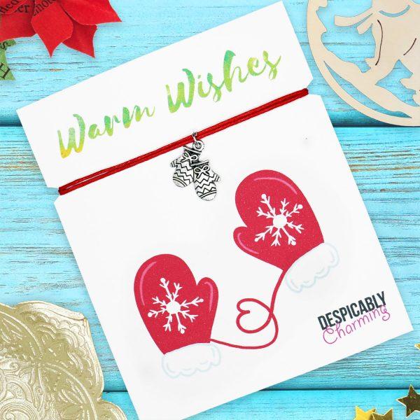 Christmas wish bracelet