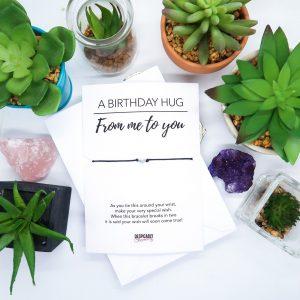 Happy Birthday Personalised Wish Bracelet
