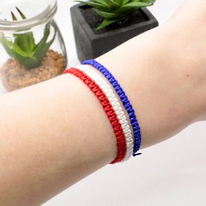 Set of 3 Macrame Bracelets